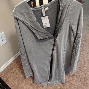 H&m cool cardigan sweater with zipper